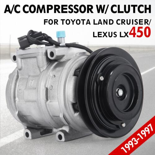 Up A//C Compressor UAC for CO 22008C 1996-1997 Lexus LX450 4.5L 77393 Best