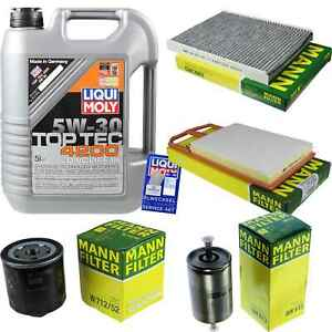 Inspection-Kit-Filter-LIQUI-MOLY-Oil-Oil-5L-5W-30-For-VW-Polo-6N1-100
