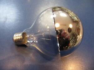 Lampade A Globo Prezzo : Laes lampada a globo g e cupola specchio argento w Ø mm