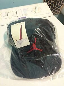 Very-Rare-Vintage-Cap-Hat-Nike-Air-Jordan-Michael-Leather-90s-Neuf-New-HTF