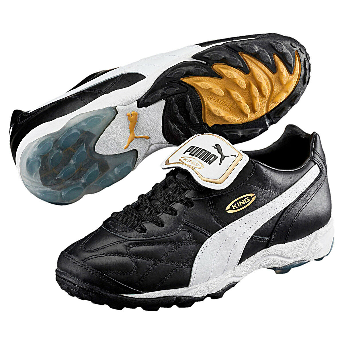 Puma Football Boots King All-Round Tt Leather 170119 01 Football Indoor Men's