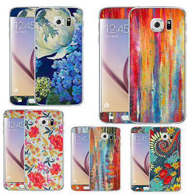TaylorHe Nel Whatmore Floral Samsung Galaxy S6 Vinyl Skin Sticker Decal