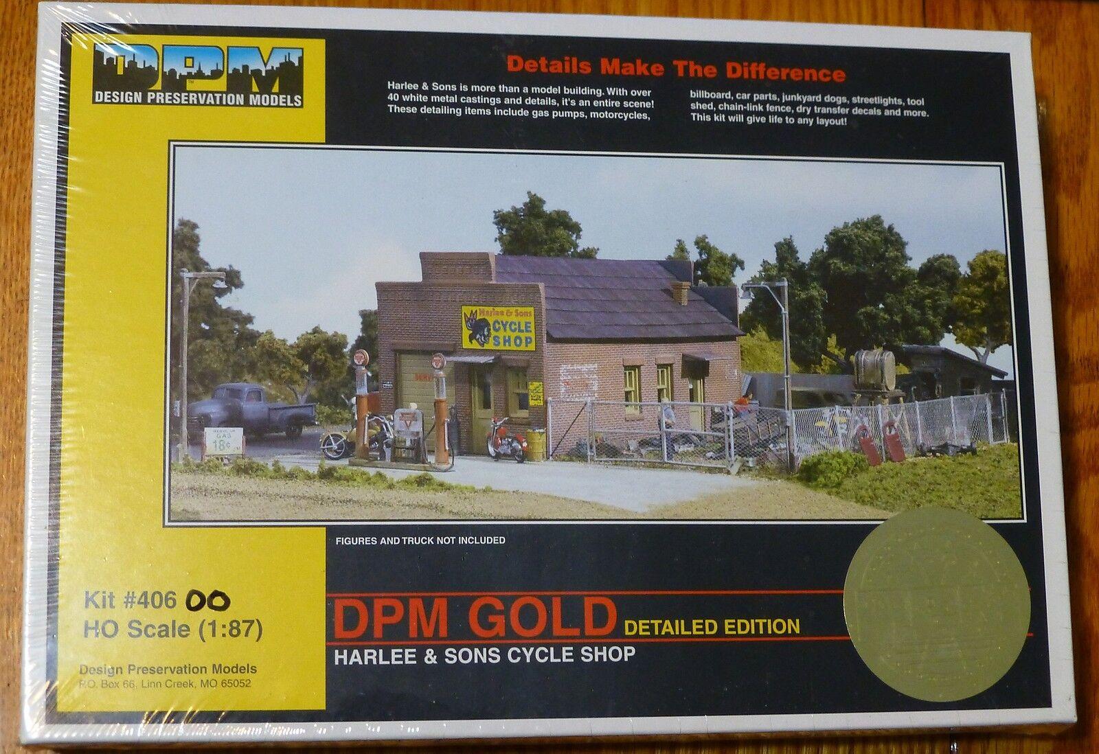 Dpm Diseño preservación Modelos Ho   40600 harlee & Sons ciclo Shop (forma De Kit)