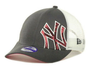 b06efaf11c6 NEW NY Yankees New Era Graphite Pink MLB Jr (Toddler) Sequin Shimmer ...