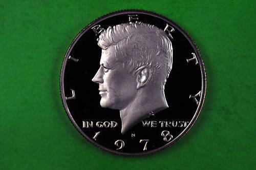 1978-S  Kennedy Half Dollar Deep Cameo US GEM Proof  Coin