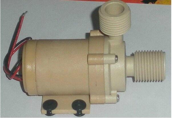 Solar 12V 24V DC Hot Water Circulation Pump Brushless Motor Water Pump 5M 3M