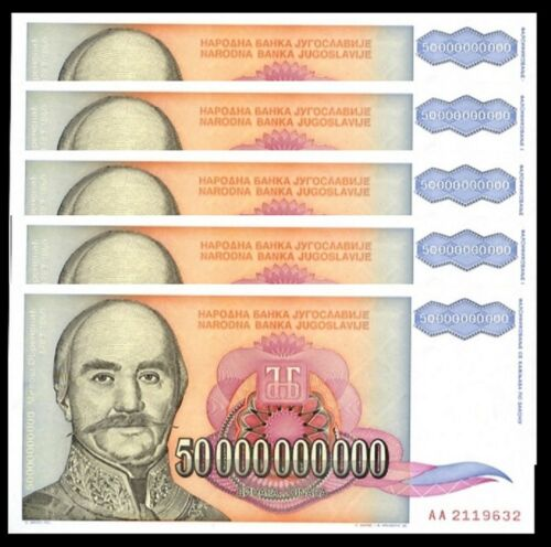 Combine FREE! Colombia 5000 Pesos P 441 RARE DATE 1995 ! UNC Low Shipping