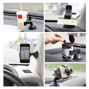 Car-Accessories-Phone-Windshield-Black-GPS-360-Rotating-Mount-Holder-Universal