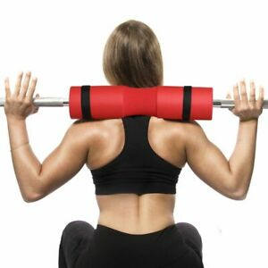 Thick Support Neck Shoulder Barbell Squat Pad Foam Gym Weight Lifting