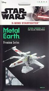 Star Wars X-Wing Starfighter Coleccionable Fascinations Metal Earth ICX132