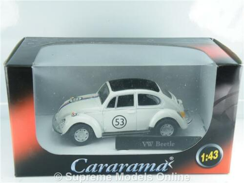 ^ Herbie Volkswagen Beetle auto 1//43RD Cararama Modello Versione 2 PORTE BXD Y0675J ^