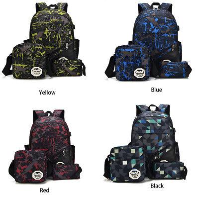 Children School Bag Rucksack Kids Travel Shoulder Bookbag Boys Girls BackpackZB