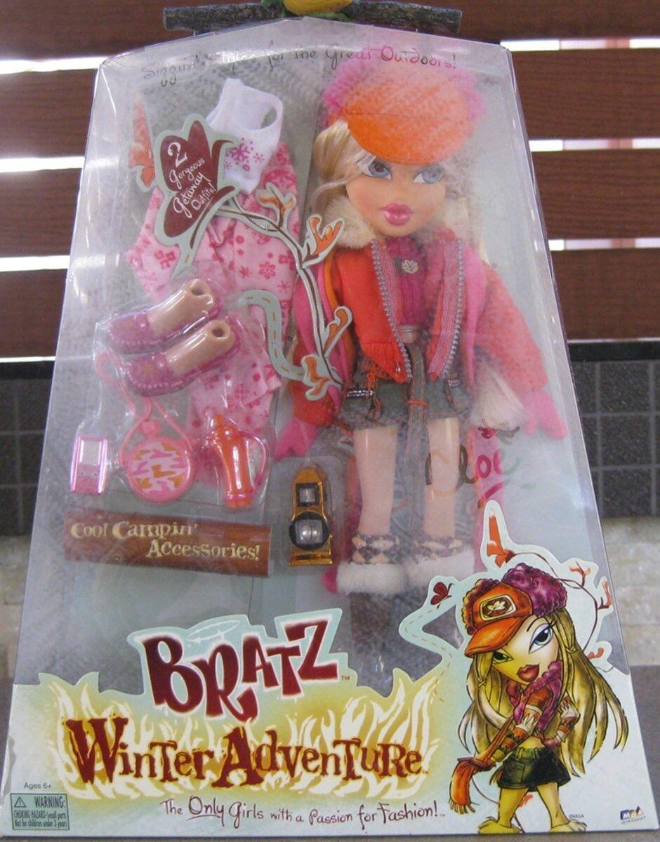 Bratz fogata Invierno aventura Cloe lanzó 2005   en Caja Original