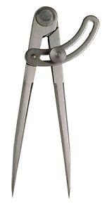 Bogenzirkel Zirkel Anreißzirkel mit Nietscharnier - DIN 6486 - 250 mm - NEU