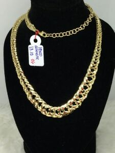 Gold-Authentic-18k-gold-necklace-16-inches-chain