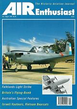 AIR ENTHUSIAST JUL-AUG 97: GRUMMAN WILDCAT/ AUSSIE NAT AIRWAYS/ T-34s v HARRIERS