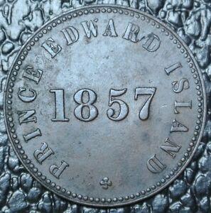 1857-PRINCE-EDWARD-ISLAND-TOKEN-BR-919-COPPER-PE7C4-Free-Trade