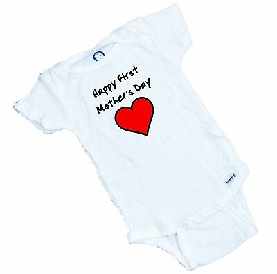 Our First Mothers Day Onesie\u00ae Girls Mothers Day bodysuit Baby Mothers Day Mothers Day Onesie\u00ae for Girls Baby Girls Mothers Day Onesie\u00ae