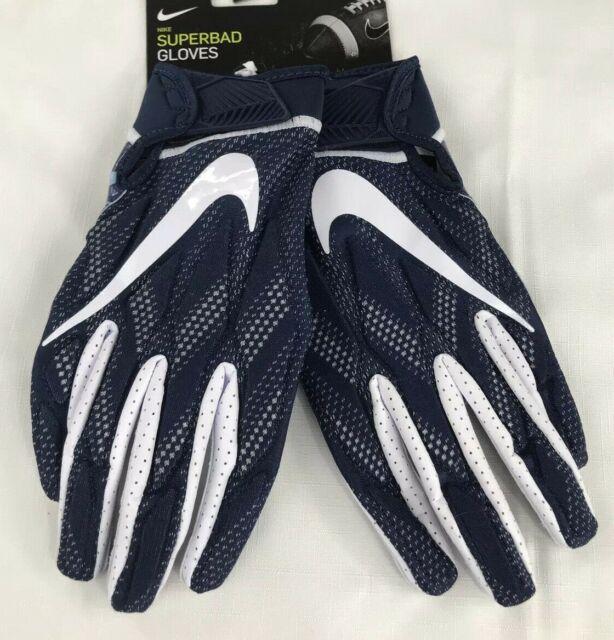 Nike Superbad 5.0 Alpha Football Gloves White//Black Men/'s 2XL XXL