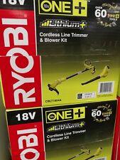 ryobi one logo. ryobi one+ 18v blower \u0026 line trimmer 4.0ah combo kit one logo y