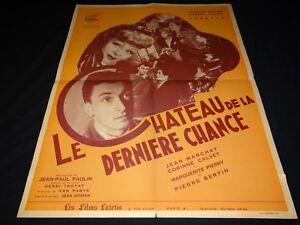 LE-CHATEAU-DE-LA-DERNIERE-CHANCE-R-Dhery-scenario-affiche-presse-cinema-1947