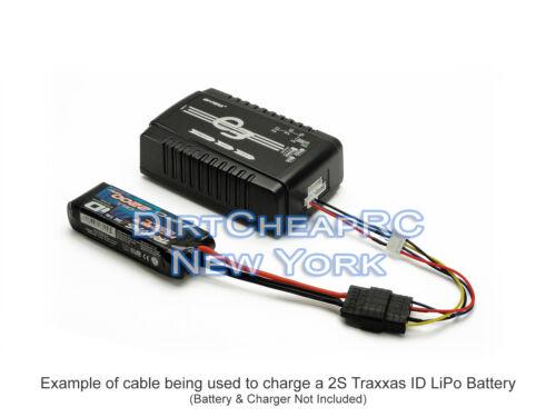 TRAXXAS ID à JST-XH 3 S 2 S Balance Plug Mâle Chargeur De Batterie Câble Adaptateur Fil