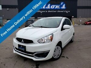 2019 Mitsubishi Mirage ES Hatchback, Bluetooth, Rear Camera, Cruise Control, Air Conditioning & Much More!