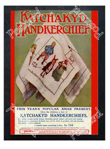 Historic-Katchakyd-Handkerchief-1910s-Advertising-Postcard
