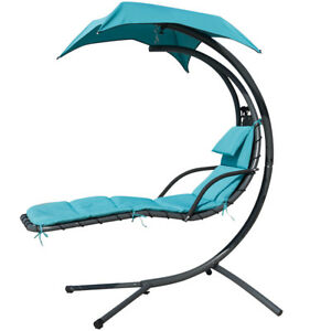 Green UK Garden Outdoor Helicopter Dream Chair Swing ... on Hanging Helicopter Dream Lounger Chair id=43180