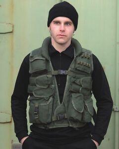 Einsatzweste-Tactical-Weste-mit-Kunstlederbesatz-Ledernacken-oliv