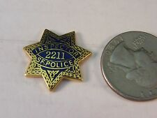#028 Pinback Button Badge Humor USDA Beefcace Inspector