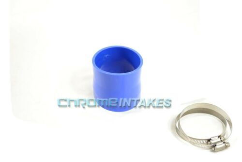 """BLUE 3.75/""""-4/"""" AIR INTAKE//PIPING RUBBER REDUCER COUPLER FOR CHEVY 99-11"""
