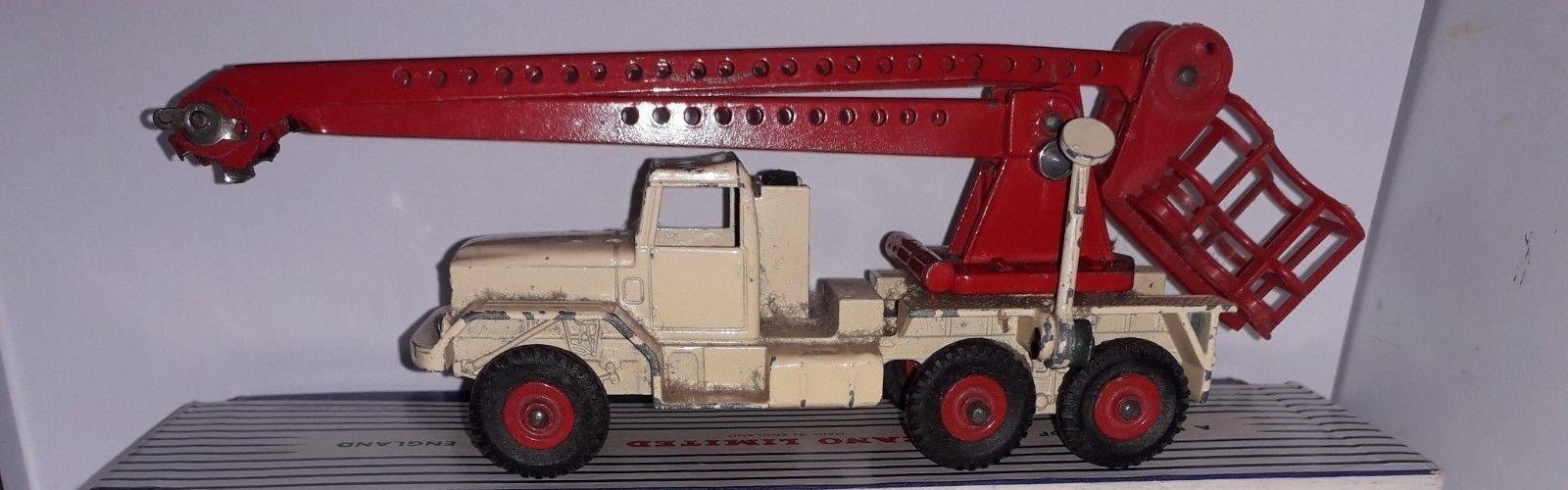 Dinky Juguetes 977 el servicio de restauración de vehículos comerciales plataforma sin caja requerido
