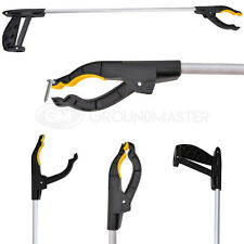 GroundMaster Litter Picker (76cm) Extra Long Handy Mobility Aid Reaching Assist