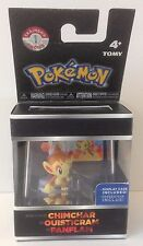 Pokemon Chimchar 2 inch Figure incl. display case & ID Tag * New * Tomy