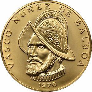 New Price 1975 Republic Of Panama 100 Balboa Gold Coin