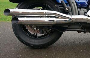YAMAHA-XVS-950-MIDNIGHT-STAR-Slip-On-Tail-Pipe-Muffler-Exhaust-OU0804