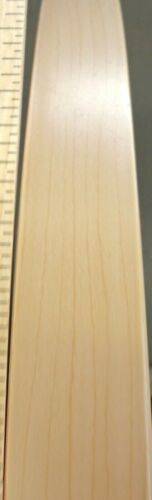 """Hard Rock Maple 3MM thick PVC edgebanding in 15//16/"""" x 120/"""" x 1//8/"""" thickness"""