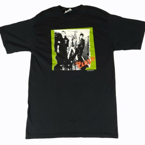 Vintage 2003 The Clash Punk Rock Band T-Shirt Siz… - image 1