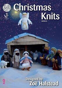 King Cole Christmas Knits Book 3 Knitting Pattern - Nativity Scene / Decorations