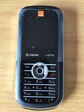 NEW SAGEM MY220X MOBILE PHONE ON ORANGE