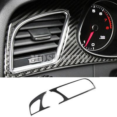 Carbon Fiber Console Gear Box Panel Trim Cover For Audi A5 S5 2008-2016(6 Model)