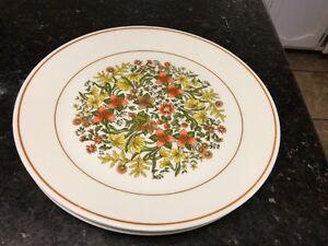 Image is loading Vintage-Corelle-Indian-Summer-Dinner-Plates & Vintage Corelle Indian Summer Dinner Plates | eBay