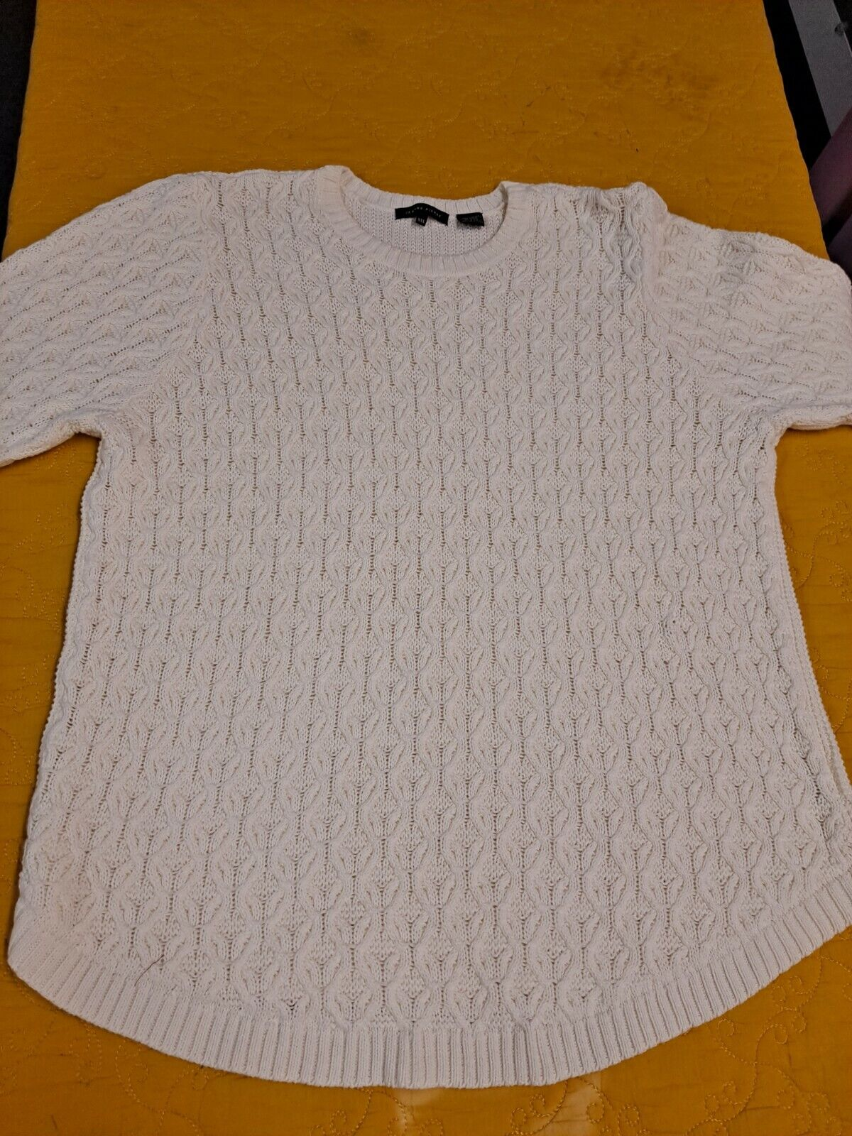 Women's Textured Knit Sweater Cable Knit Pullover… - image 5