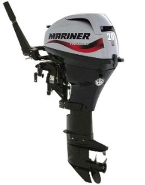 Mariner F20 Manual Start Short Shaft Outboard Engine Boat Motor 20hp