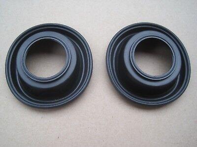 2 x Carburettor Diaphragm Membrane Fits Suzuki gsx 400 E 1984 twin Mikuni BS34SS