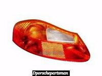 Porsche Boxster Tail Light Lens (amber/red) { Left } Genuine Ns