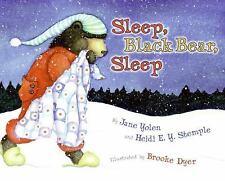 Sleep, Black Bear, Sleep-ExLibrary