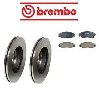 Honda Crx 90-91 Si Front Brake Rotors With Brake Pads Kit Brembo/op on Sale