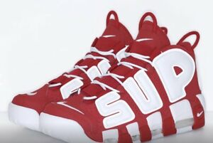 Details about Supreme x Nike Air More Uptempo